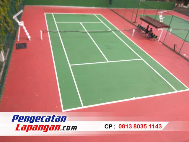 harga jasa cat lapangan tenis, warna cat lapangan, harga cat lapangan tenis