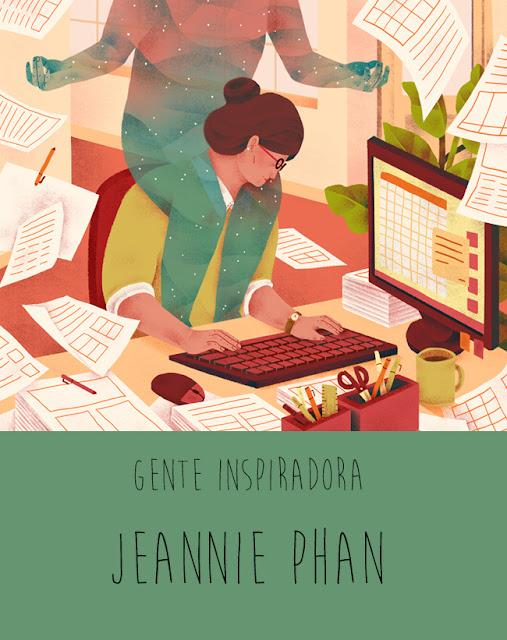 Gente inspiradora: Jeannie Phan ilustración