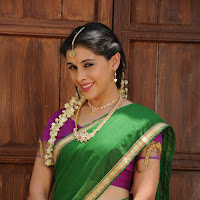 Beautiful Maanasi traditional look stills