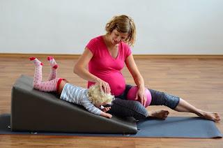 Cvičení v těhotenství - workshop