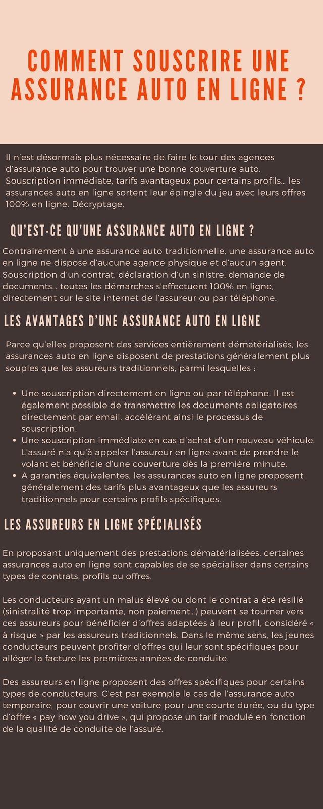 assurance auto pas cher souscription en ligne infographie. Black Bedroom Furniture Sets. Home Design Ideas