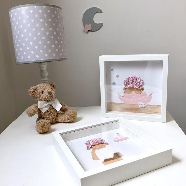 Ideas para decorar cuartos de baño infantiles- cuadros para baños infantiles