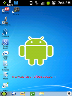 Free Download Android Theme Windows7 v1