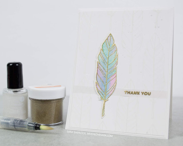 Handmade cards featuring the new Feathered stamps & dies from Concord & 9th.