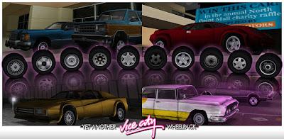 gta vc vice city mod rodas em hd wheels hq