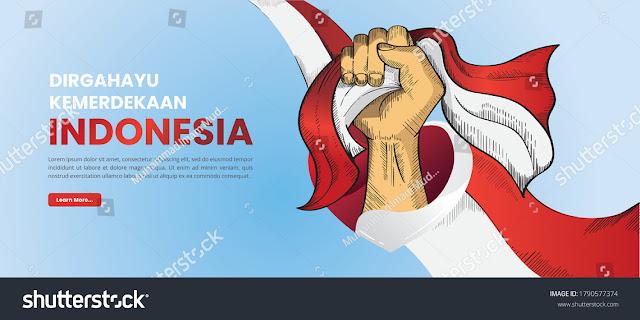 Contoh Desain Banner Hut Kemerdekaan Republik Indonesia Dkv Banget