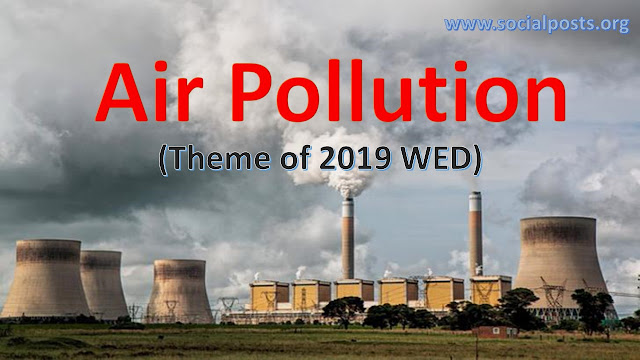 What is the famous world environment day slogan 2019?