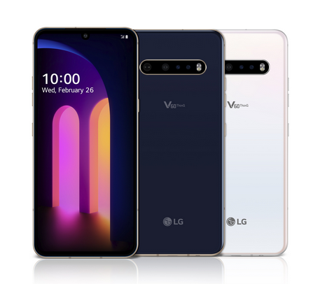 LG Launches V60 ThinQ 5G Dual-screen Smartphone