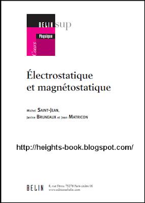 Télécharger Livre Gratuit Electrostatique et magnétostatique pdf