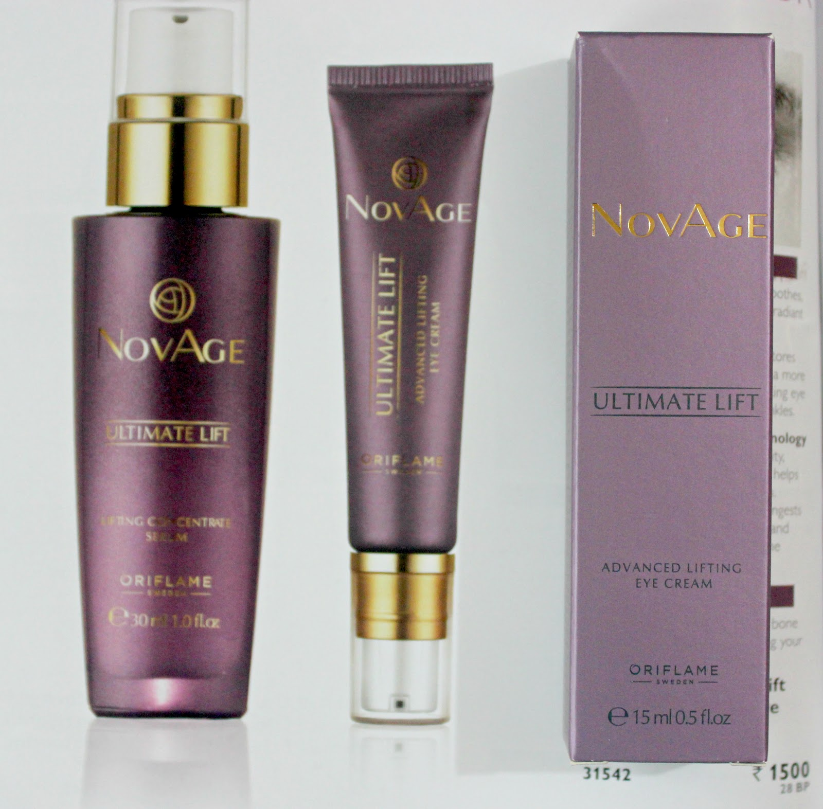 Oriflame novage ultimate lift advanced lifting eye cream quick oriflame novage ultimate lift advanced lifting eye cream quick review stopboris Image collections