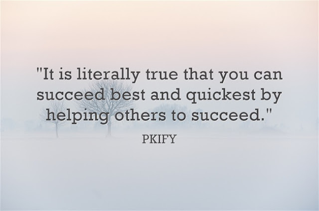 It Is Literally True That You Can Succeed Best and Quickest