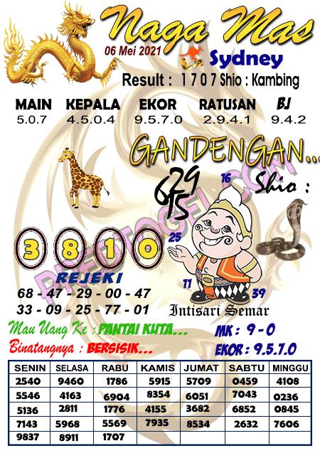 Syair Nagamas Sdy Kamis 06 Mei 2021
