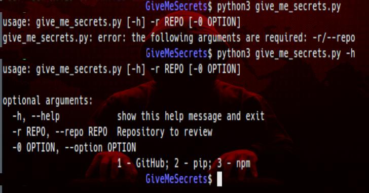 GiveMeSecrets : Use Regular Expressions To Get Sensitive Information