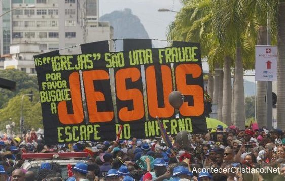 Evangelismo en Carnaval de Río, Brasil