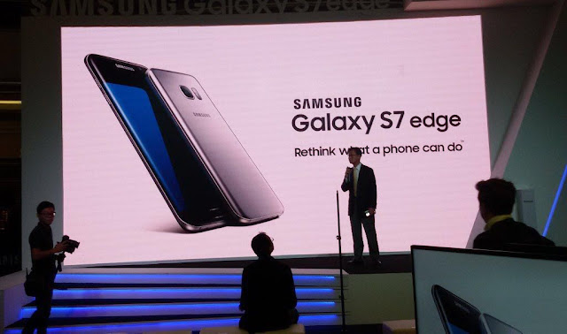 GAMBAR LEE KWANG SOO di Pelancaran Samsung S7 Edge