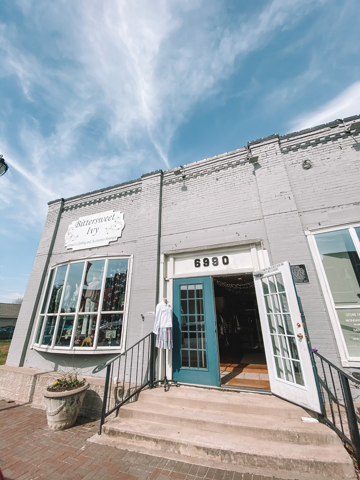 Bittersweet Ivy boutique is located on Main Street in Frisco, Texas