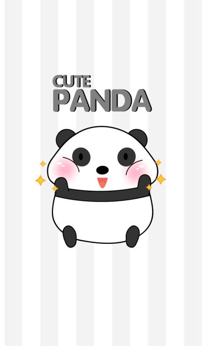 Cute Fat Panda Theme