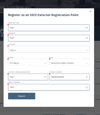 2019 NECO GCE Registration Form (Nov/Dec) | Cybercafes & Candidates