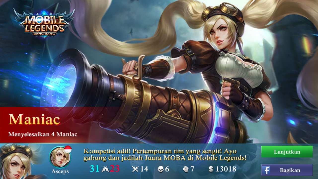Hero Layla Mobile Legends Asep Zaenuri