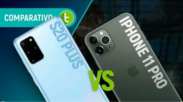 IPHONE 11 PRO vs GALAXY S20 PLUS: