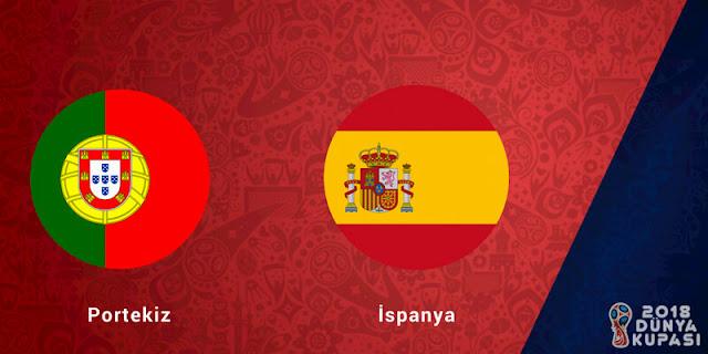 2018 Dünya Kupası Portekiz 3-3 İspanya Maçı Detayları - Kurgu Gücü