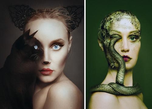 00-Flora-Borsi-Animeyed-Self-Portraits-Surreal-Photographs-www-designstack-co
