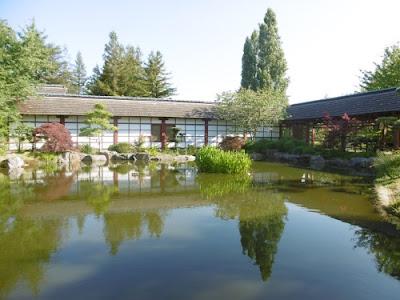 Le jardin japonais de l'île de Versailles, Nantes, malooka