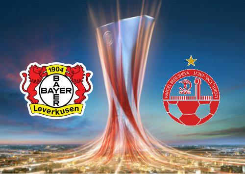 Bayer Leverkusen vs Hapoel Be'er Sheva -Highlights 26 November 2020