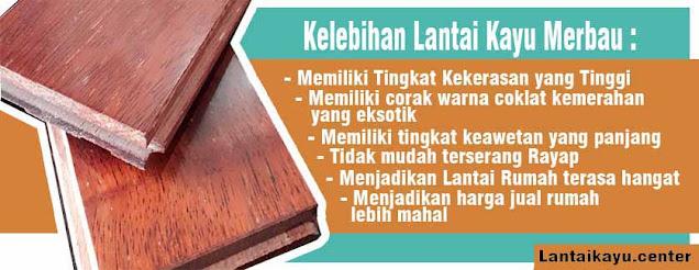 manfaat lantai kayu merbau