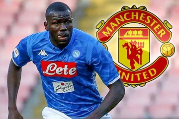 "OMG! Napoli Star Kalidou Koulibaly Transfer To Manchester United ""All Done"" (Must Read)"