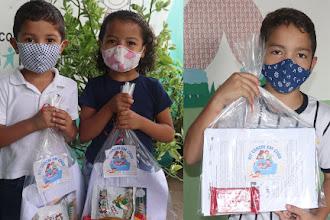 """Centro de Apoio à Criança entrega """"Kit Ceacri em Casa"""" para 2575 beneficiários"""