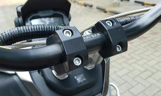 Modifikasi Setang Motor Honda, Bisa disetel Sesuka Hati