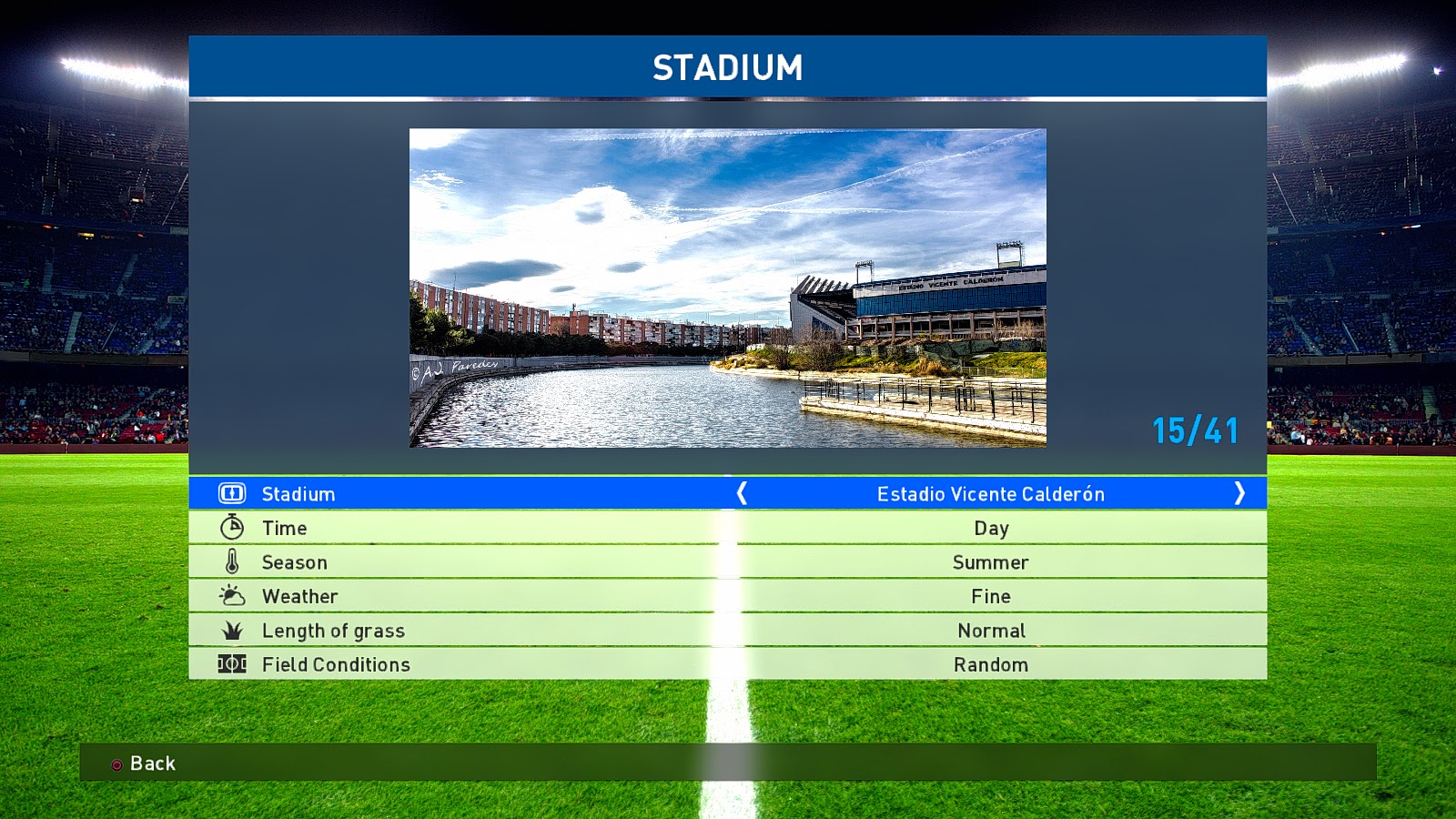 PES2017. New Stadium Preview Repacked Donnyavia by Gilapesku ~ GILAPESKU