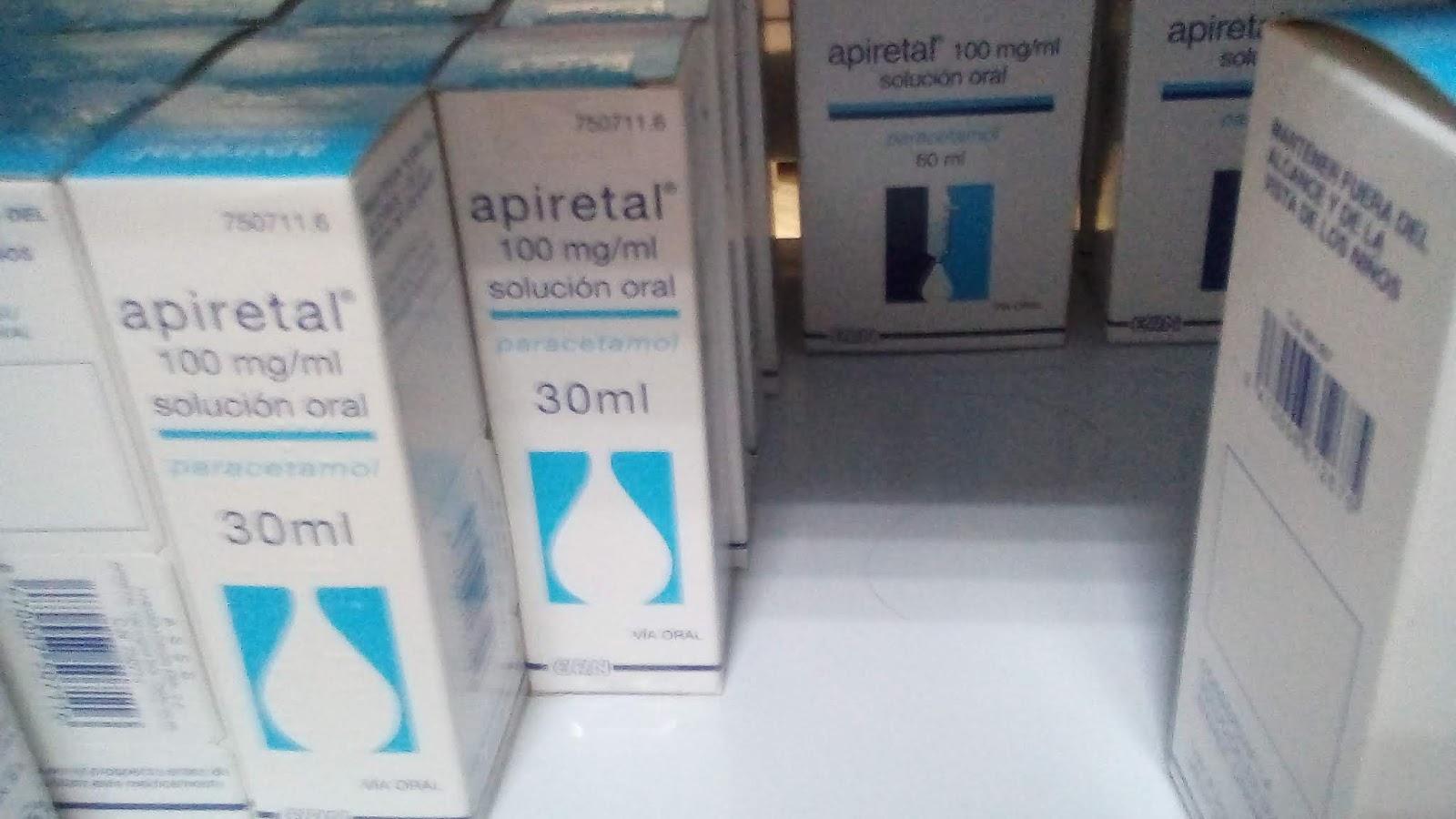 dosis de apiretal calcular