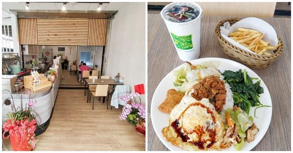 台中南區囍廚房蔬食早午餐平價又美味,銅板價素食美食好選擇