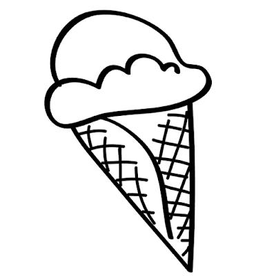 Gambar Mewarnai Ice Cream - 8