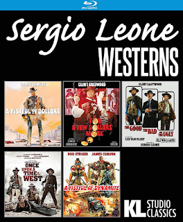 Vault Master's Pick of the Week for 03/03/2020 is Kino Lorber's SERGIO LEONE WESTERNS COLLECTION!