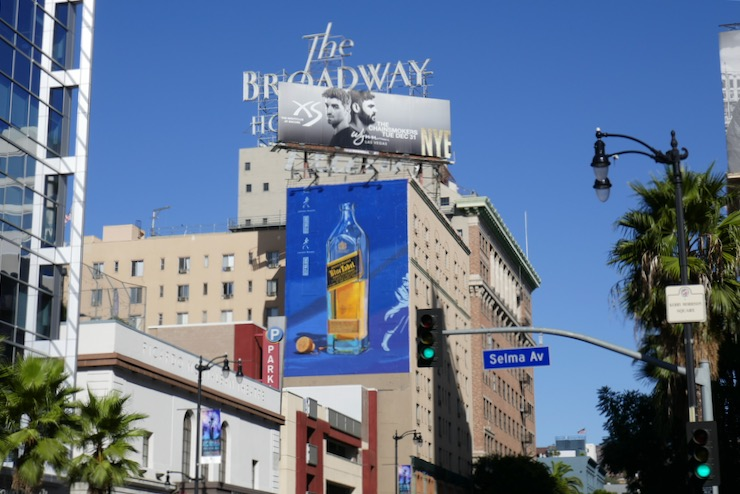 Johnnie Walker Blue Label Holidays billboard