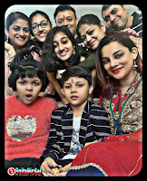 Kanika Maheshwari in Family