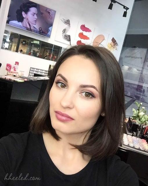 Дневной макияж с палитрой теней Т19 от Make-up Atelier Paris