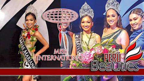 Shannon Tudela Sasamoto es Miss Northern Marianas 2019