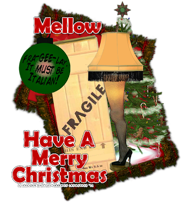 Mellows Graphics: A CHRISTMAS STORY (Extras)