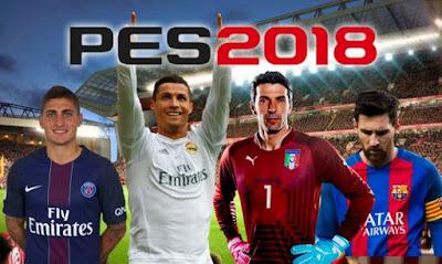 لعبة كرة القدم بيس 2018 - PES 2018