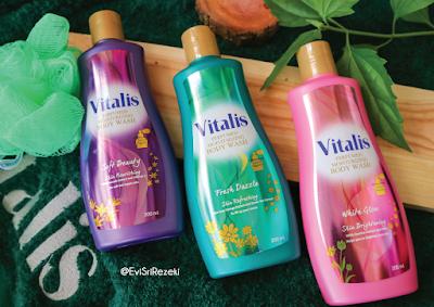 Sensasi Mandi Vitalis Perfumed Moisturizing Body Wash Buat Si Moody