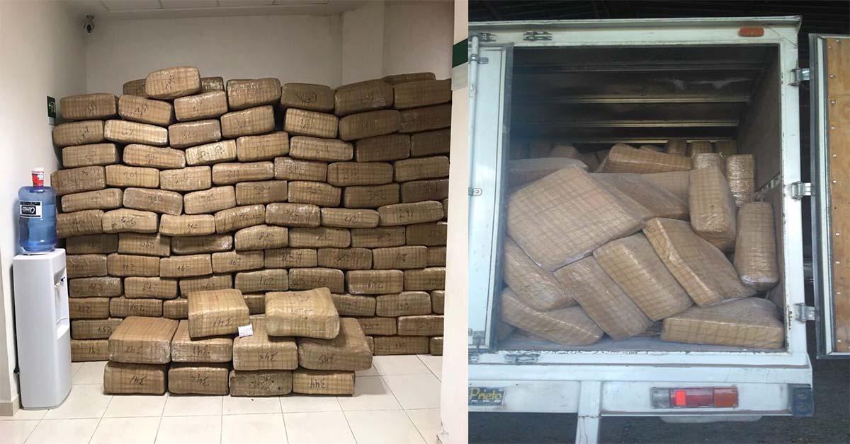 Video: Decomisan 3 toneladas y media de Marihuana en Valle Hermoso, Tamaulipas