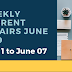 Weekly Current Affairs June 2019: 1st June to June 7th