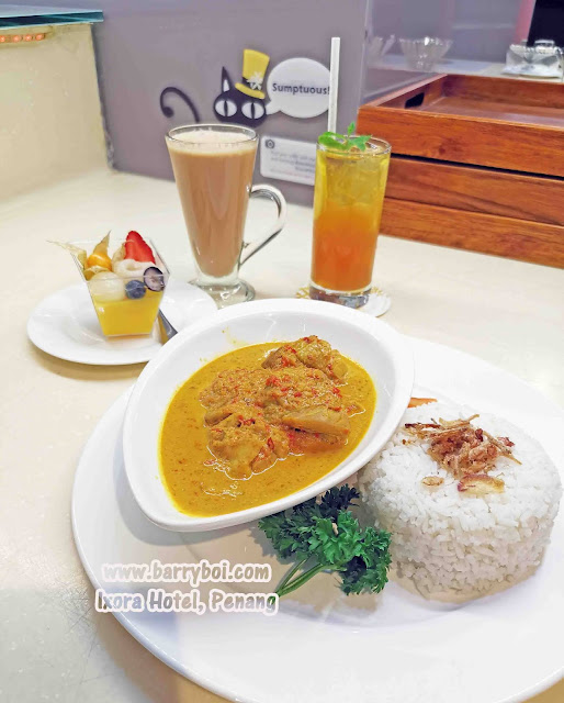 Nyonya Kapitan Curry Delicious Set Menu at Ixora Hotel Penang Penang Blogger Influencer