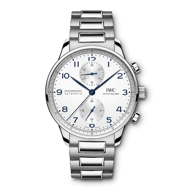IWC Portugieser Chronograph with steel bracelet