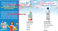 Logo Goditi la Primavera e vinci una fornitura di prodotti CIF e Lysoform