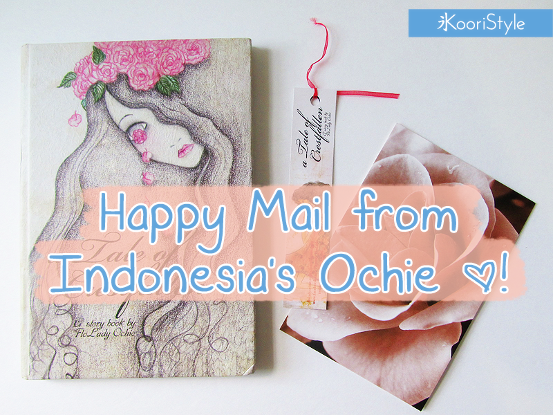Koori KooriStyle Kawaii Cute Happy Snail Mail PenPal Unboxing Opening Pastel Goth Illustration Book Indonesia tale crestfallen